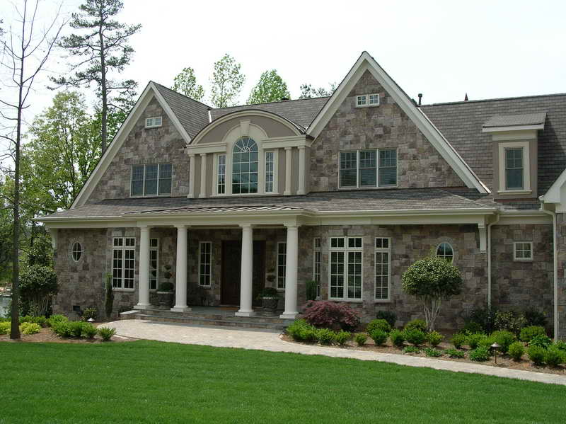 Knoxville manufactured stone north knox siding and windows for Stone built homes